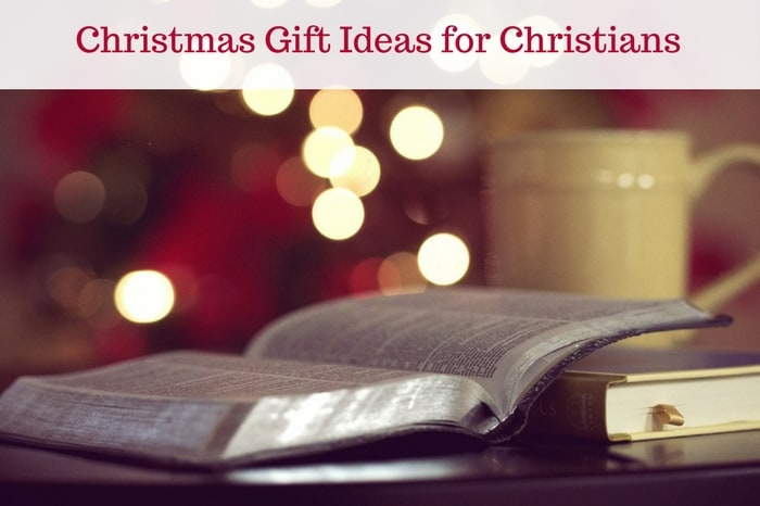 Christmas Gift Ideas for Christians