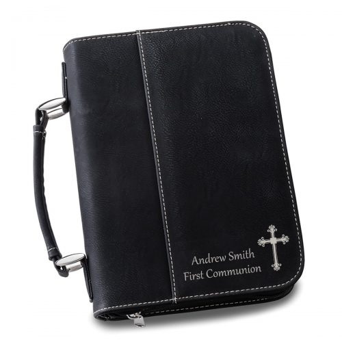 Personalized Leather Bible Cover - Conformation Gifts