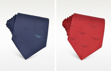 Bentley Wings Silk Tie