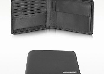 Porsche Design Black Leather Billfold