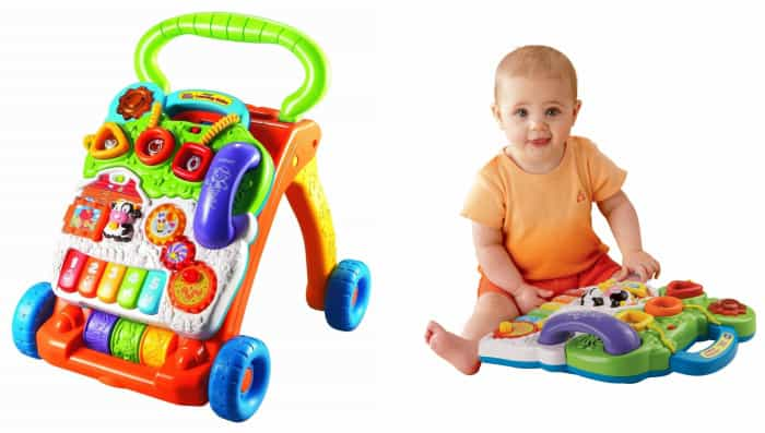 Vtech Sit To Stand Learning Walker Absolute Christmas