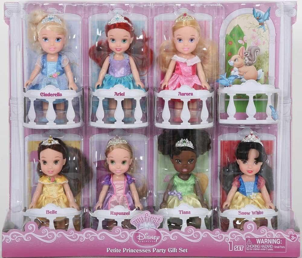 Disney princess petite princesses party gift set absolute christmas - Petite princesse disney ...