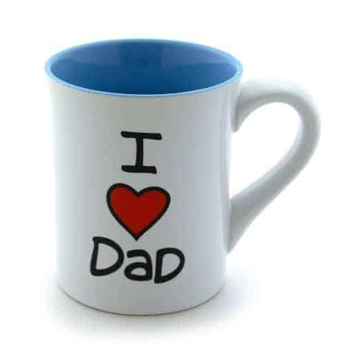 I Love Dad Mug Absolute Christmas
