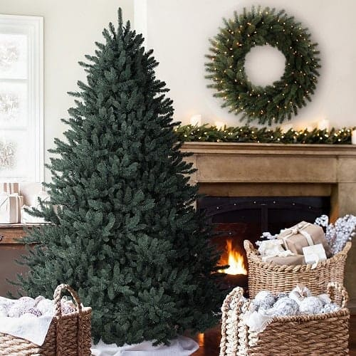 Balsam Hill 6.5-Foot Blue Spruce Artificial Christmas Tree - Best Fake Christmas Trees