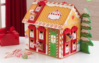 kidcraft wooden advent calendar