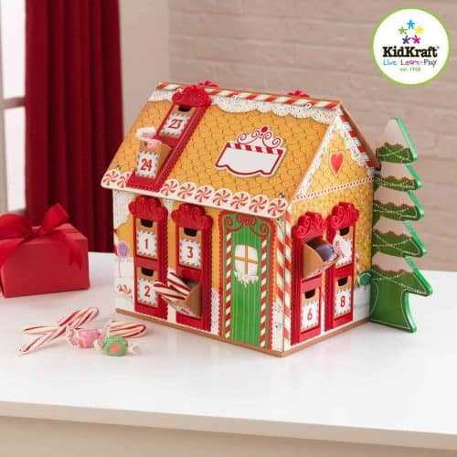 kidcraft wooden advent calendar