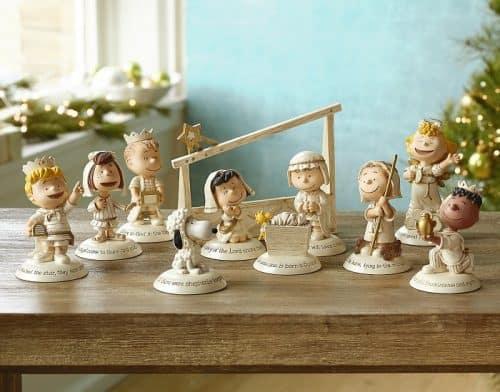 Hallmark Peanuts Nativity Set Absolute Christmas