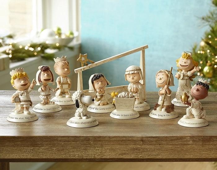 Hallmark Peanuts Nativity Set