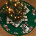 Bucilla Christmas Tree Skirt Kit