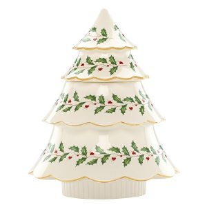 Lenox Christmas Tree Cookie Jar