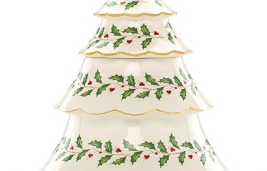 Lenox Christmas Tree Cookie Jar