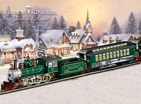 Thomas Kinkade Christmas Express Train