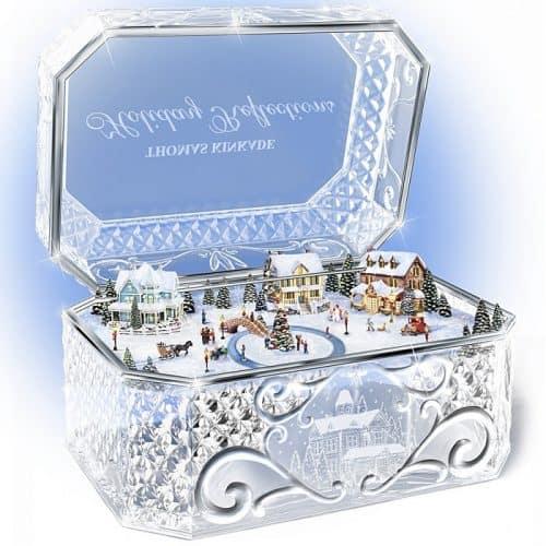 Thomas Kinkade Crystal Music Box