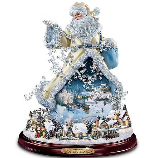 Christmas Statue Decorations: Top 9 Thomas Kinkade Christmas Decorations 2017