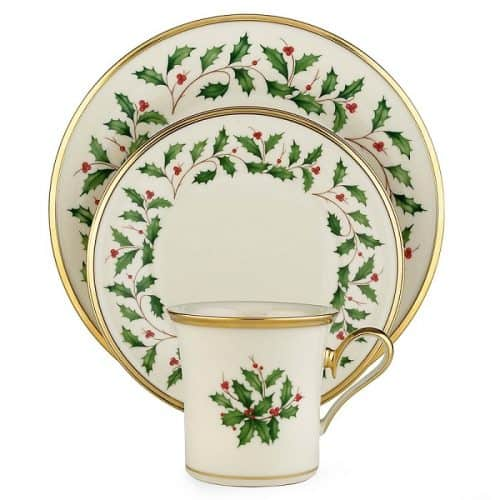 Lenox Holiday 12 Piece Dinnerware Set Absolute Christmas