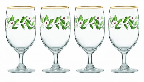 Lenox Holiday Iced Beverage Glasses
