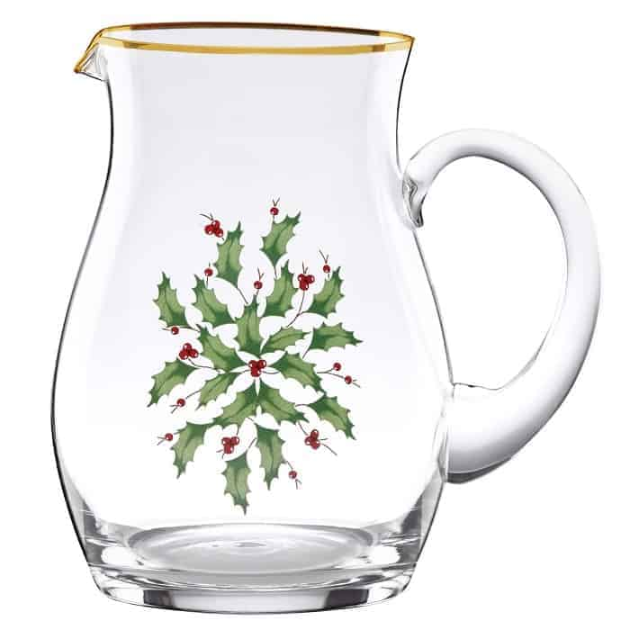 Lenox Holiday Pitcher