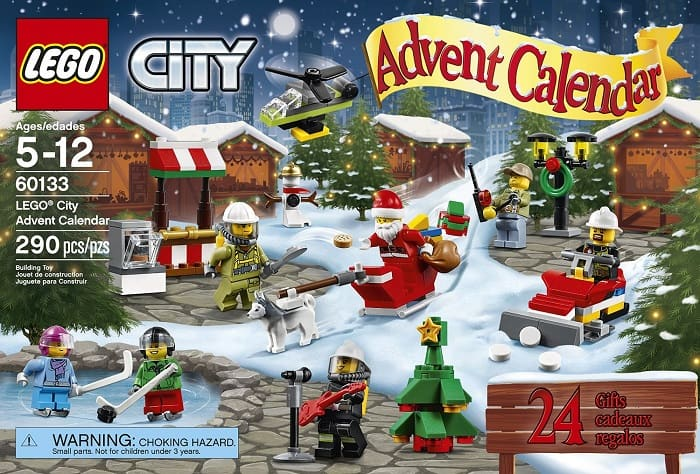 ... Wars. Today were taking a look at the LEGO City Town Advent Calendar