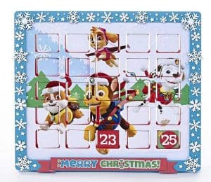 paw patrol advent calendar