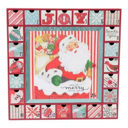 Top 15 Wooden Christmas Advent Calendars 2018