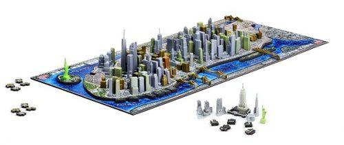 4D New York City Skyline Puzzle