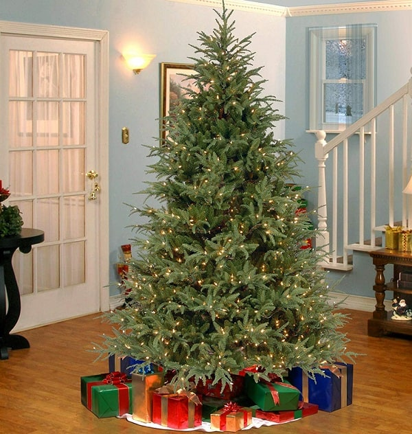 7.5 Ft Pre-lit Feel Real Frasier Grande Tree
