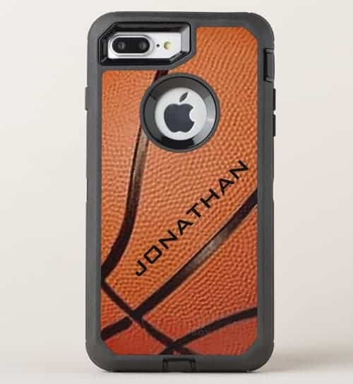 Basketball Design OtterBox Phone Case
