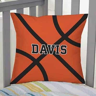 Basketball Personalized 14 inch Throw Pillow