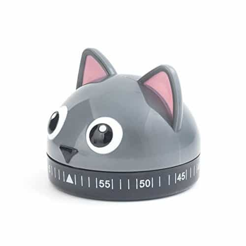 cat kitchen timer - Adorable way to keep tabs on your cooking times