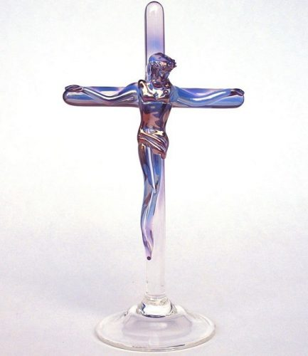 Crucifix Figurine By Kevin Prochaska - Christian Gifts for Women