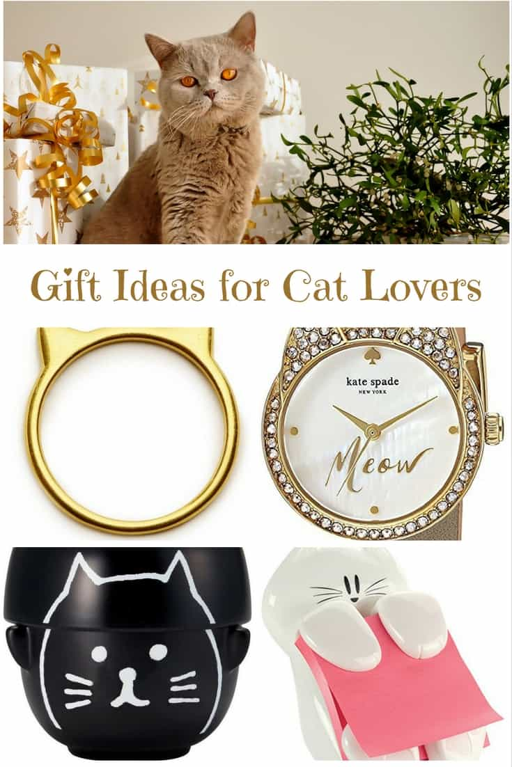 Purrfect gift ideas for cat lovers cat gifts for cat lovers for Christmas gift ideas for kitchen lovers