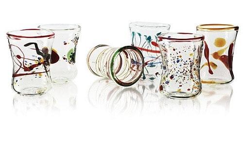 Goto Venetian Wine Glasses - Set of 6