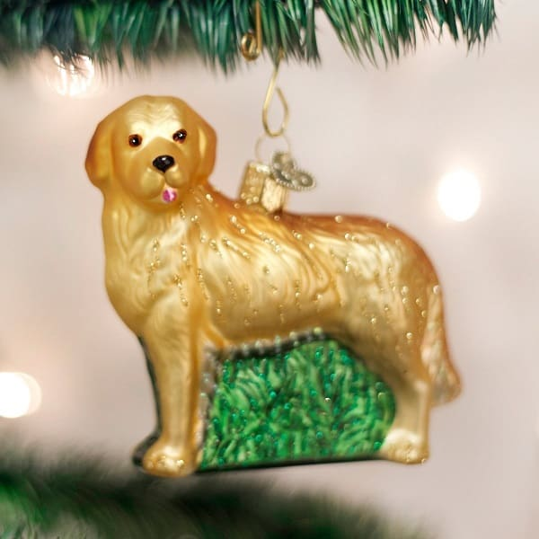 7 Pawesome Golden Retriever Christmas Ornaments Absolute