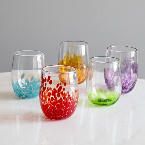 Handmade Birthstone Wine Glass - Luxury Gifts for Her
