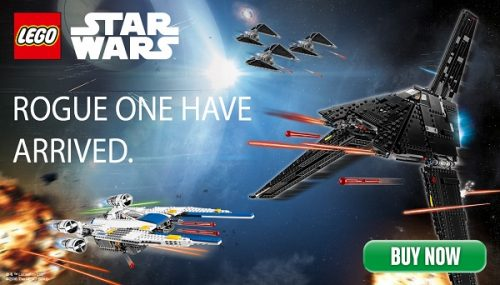 lego building kits Star Wars Roque one