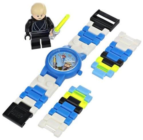 LEGO Luke Skywalker Watch with mini figure - Great gift for the person who likes LEGO