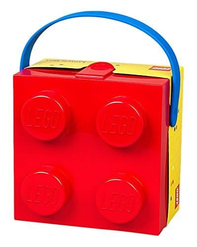 LEGO Lunch Box with Handle - Cute gift for any LEGO fan