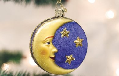 Man In The Moon Christmas Ornament