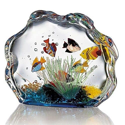 Murano Glass Aquarium - Cool and unique Christmas gift!