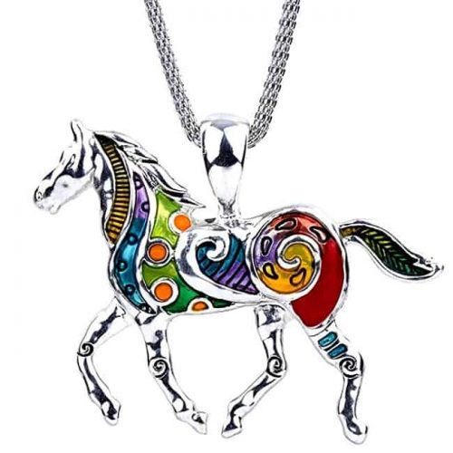 Necklace With Horse Pendant | Gifts for Horse Lovers