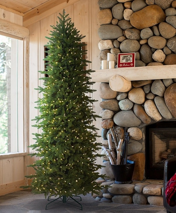 Real Looking Fake Christmas Trees: Top 7 Pencil Slim Christmas Trees 2017
