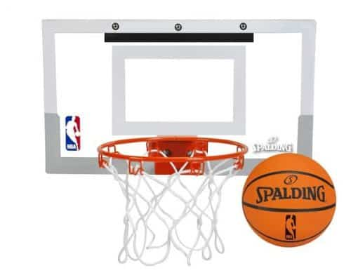 Over The Door Mini Basketball Hoop - great for a man cave, office or kids bedroom!