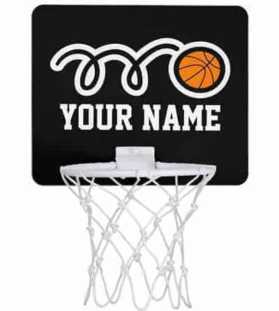 Personalized Mini Basketball Hoop