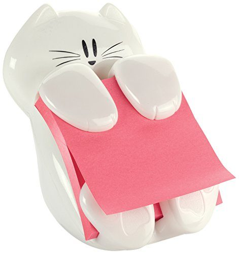 Post-it Cat Figure Pop-up Note Dispenser - Love this for keeping my desk neat.