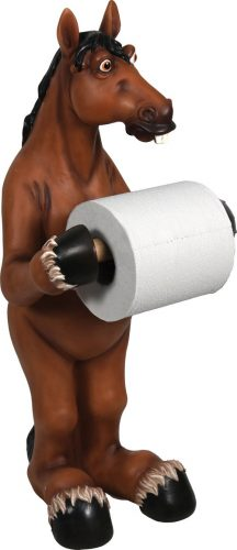 Rivers Edge Products Horse Toilet Paper Holder