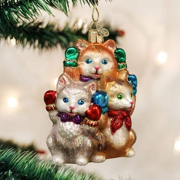 10 cute cat christmas ornaments for a purrfect tree absolute christmas - Cat Christmas Decorations