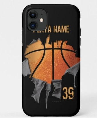 Torn Basketball Case-Mate Phone Case