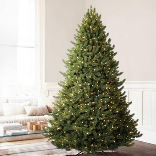 Vermont White Spruce Premium Artificial Christmas Tree - Gorgeous tree sizes up to 12ft.