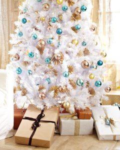 Winter White Artificial Christmas Tree - Gorgeous white christmas tree!