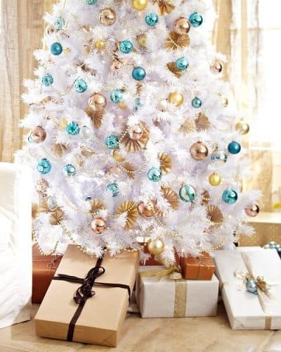 Winter White Artificial Christmas Tree - Gorgeous white christmas tree!